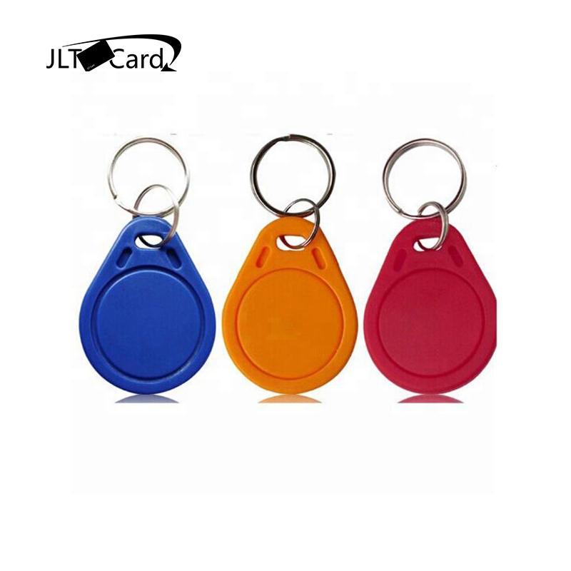 HF 13.56MHZ Access Control System Keychain Rfid Plastic Keyfob /Rfid NFC Keyfob