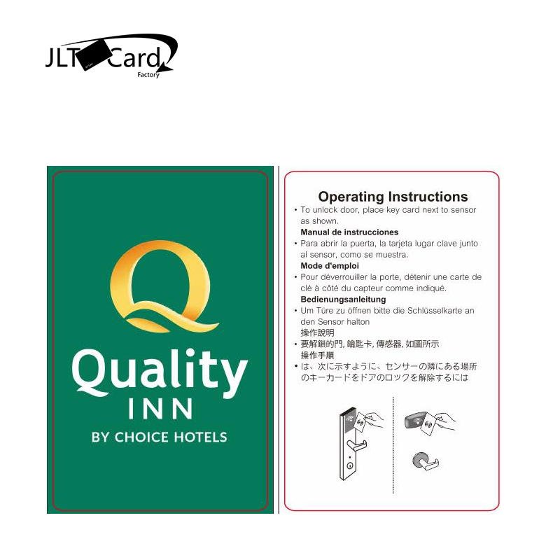 Factory outlet salto betech rfid hotel key card