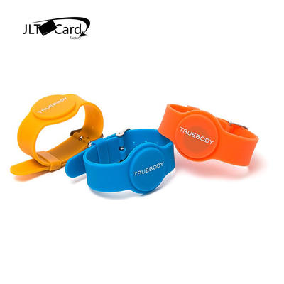 GYM silicone rfid wristband for swimming pools Smart NFC/RFID Bracelet