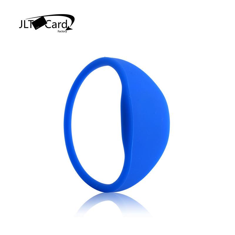 125Khz T5577/EM4305 Rewritable RFID Silicone Wristband