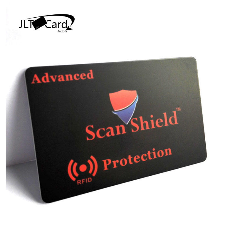 HF 13.56mhz Card Shield Contactless NFC Block Card