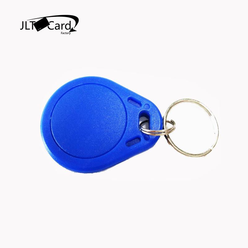 Custom color MIFARE Classic 1K abs nfc key fobs waterproof key fob