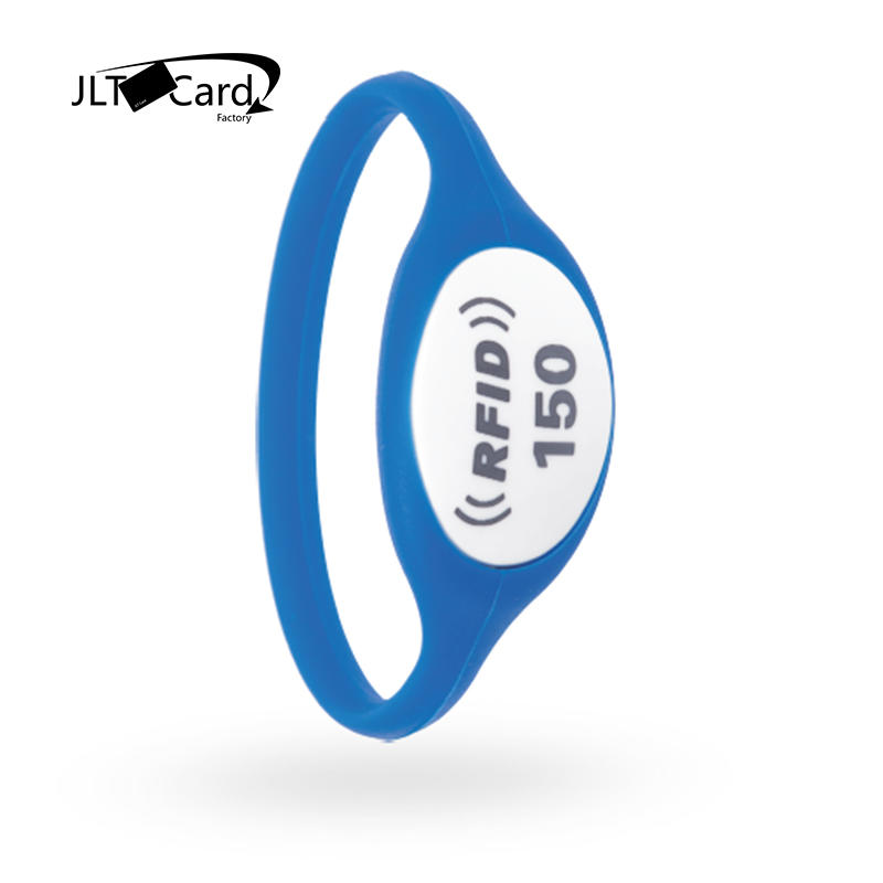 Waterproof Silicone NFC NTAG213 RFID bracelet Wristband for Event