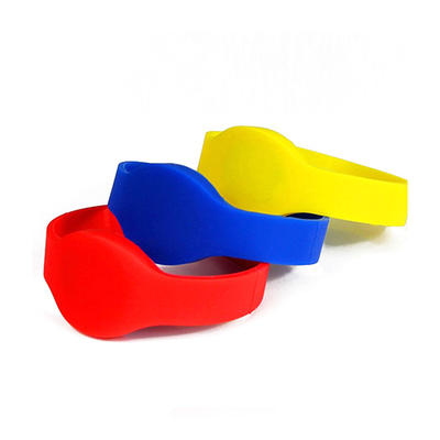 Waterproof 13.56mhz Nfc Bracelet Rfid Silicone Wristbands