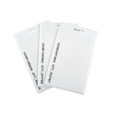 1.8mm Thickness 125Khz TK4100 Chip RFID Proximity Clamshell Card