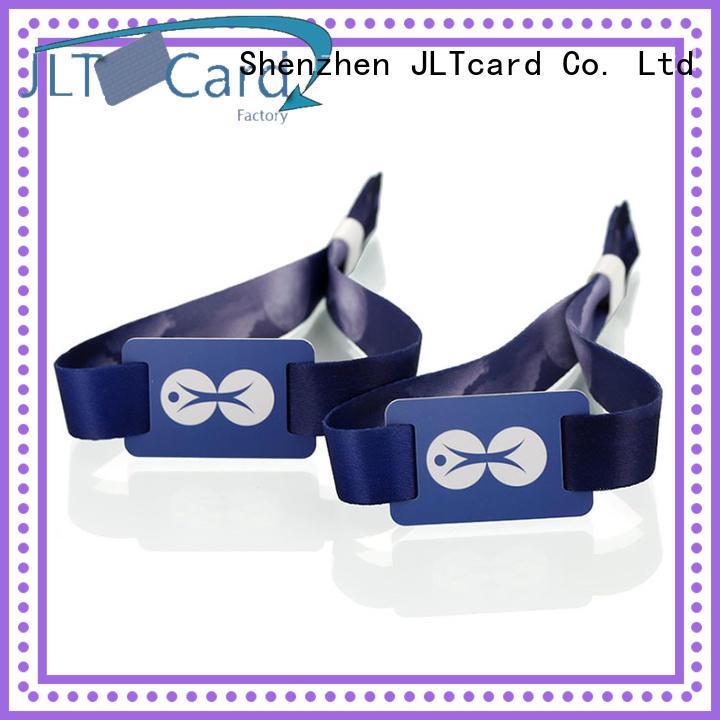 custom rfid fabric wristband wholesale for importer